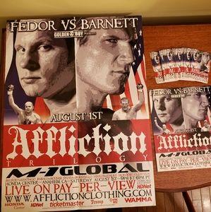 Affliction M-1 Global mma promo kit
